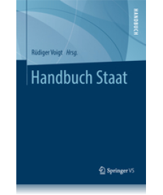 Cover: Handbuch Staat